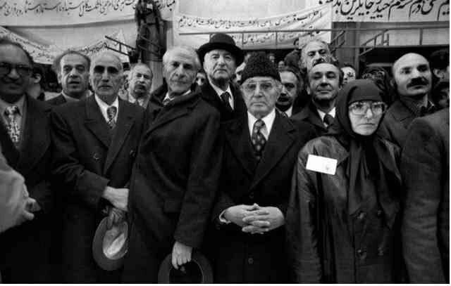 استقبال جبهه ملی از امام خمینی